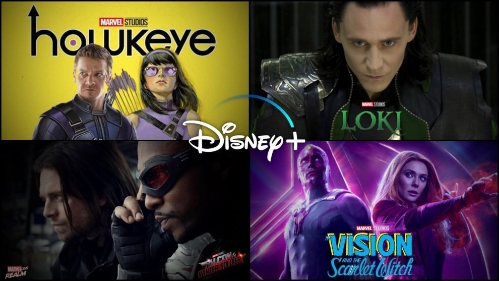 marvel cinematic univers fase 4 serie tv e film marvel MCU